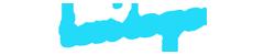 logo blanc bleu