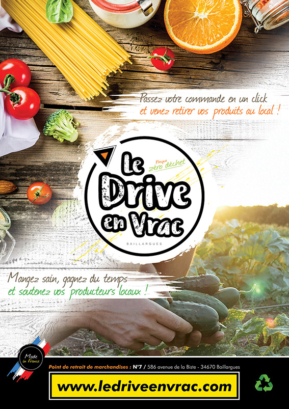 flyer drive vrac producteur locaux photo