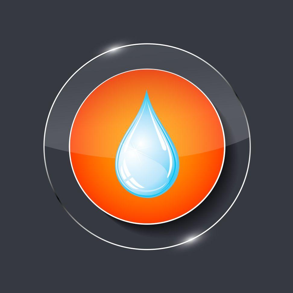 icon orange goutte