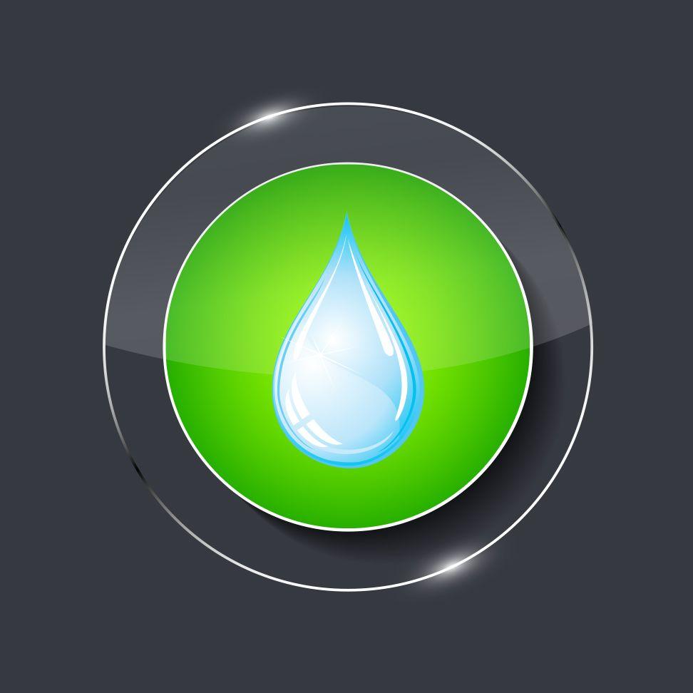 icon goutte vert