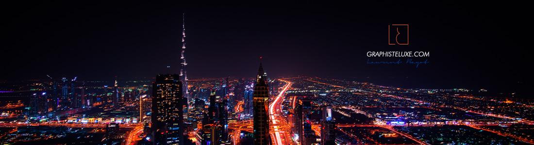 dubai ville luxe lumière