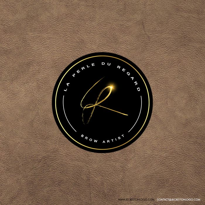 logo rond luxe or