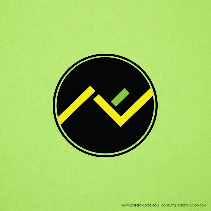 logo rond n jaune noir vert