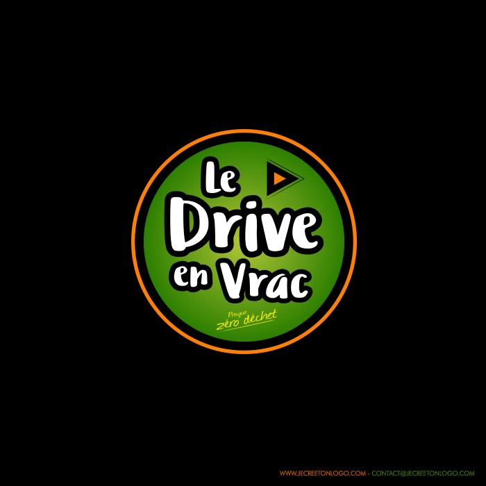 rond vert orange logo drive