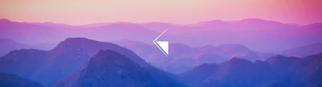 horizon logo premium blanc