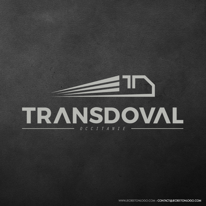 creation logo transporteur
